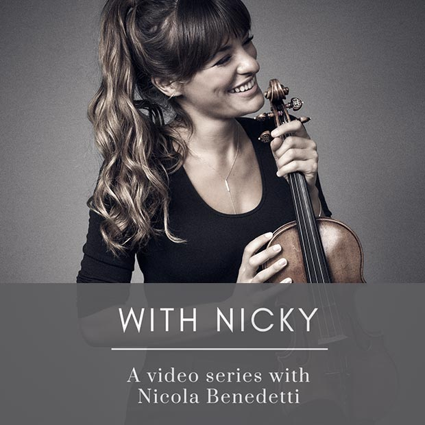 With Nicky: A video series with Nicola Benedetti
